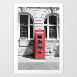 Classic Britain Art Print
