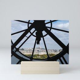 Paris from Musee d'Orsay Mini Art Print