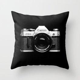 Through the Camera Lens 1 Throw Pillow
