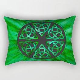 Celtic Knot Star Flower Rectangular Pillow