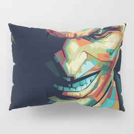 Joker Pop Art Portrait Pillow Sham