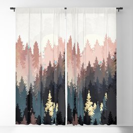 Spring Forest Light Blackout Curtain