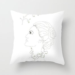 Spring in the soul Throw Pillow