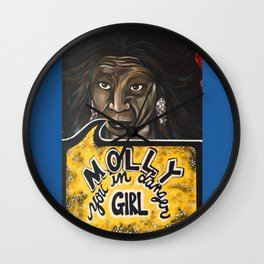 Oda Mae Brown Wall Clock