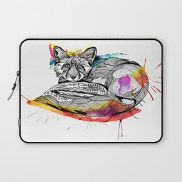Watercolor Fox  Laptop Sleeve