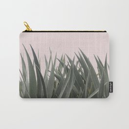 PLANTS ON PINK ARGAVE Carry-All Pouch