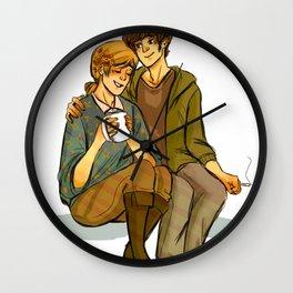 Flower Boys Wall Clock
