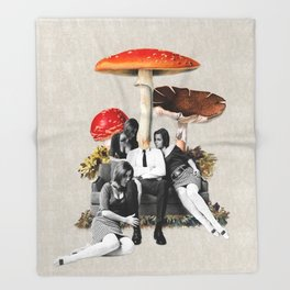 Upper Class Dealer Throw Blanket