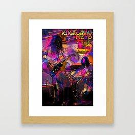 Kikagaku Moyo - Kogarashi - Starlight Alley Kats Framed Art Print