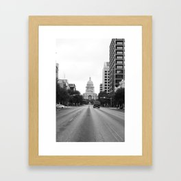 The Capitol Framed Art Print