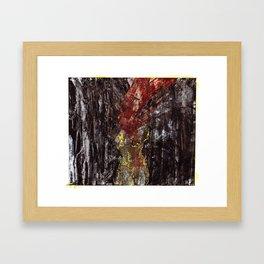 Iron (I) Framed Art Print