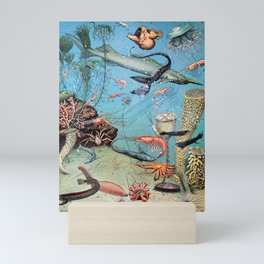 Adolphe Millot - Ocean A - french vintage poster Mini Art Print