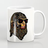 teen wolf Mugs featuring Teen Wolf by Vasco Vicente