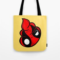 poop Tote Bags featuring Dead Poop by Artistic Dyslexia