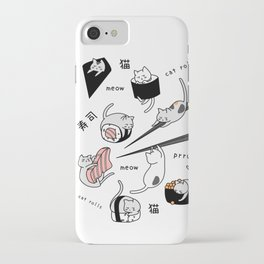 Sushi cats iPhone Case