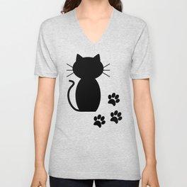 A Lot of Cats B/B Unisex V-Neck