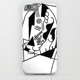 Picasso Guitare et Boîte (Guitar and Box) 1925 Artwork Reproduction iPhone Case