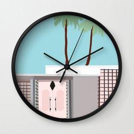 Palm Springs 1 Wall Clock