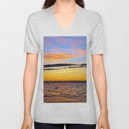 Zen Seascape Unisex V-Neck