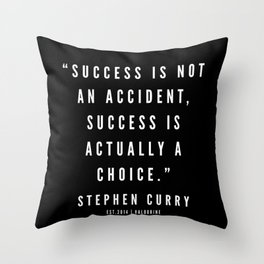 15    |  Sport Quotes | 190527 | Black Throw Pillow