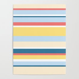 Rushcutters Bay Stripe Poster