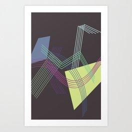 overhang Art Print