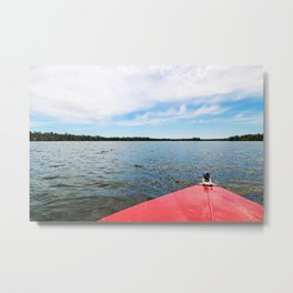 Lake Itasca - Minnesota, USA 7 Metal Print
