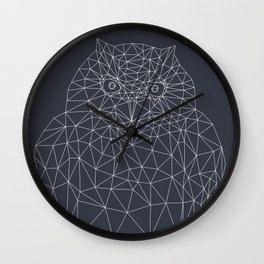 Interconnected Owl Wall Clock