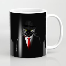 Mobster Cat Coffee Mug