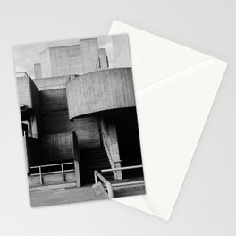 National Theatre | London |  United Kingdom by Sir Denys Lasdun Architect Stationery Cards