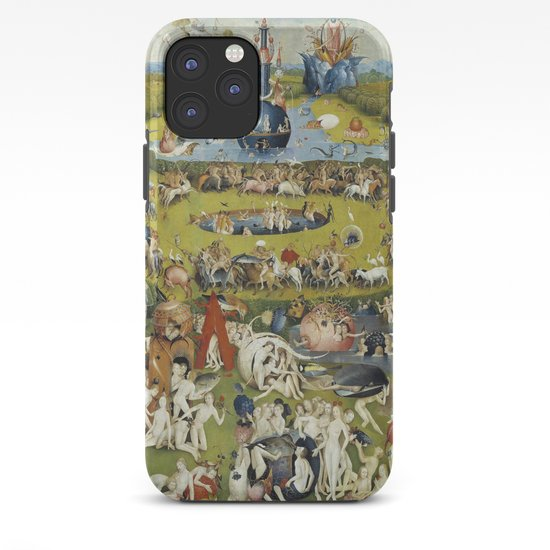 THE GARDEN OF EARTHLY DELIGHT - HEIRONYMUS BOSCH iPhone ...Bosch Garden Of Earthly Delights Outside