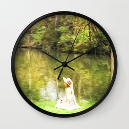 At one with nature Wall Clock