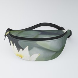 South Korea Photography - Fragrant Water-lilies In A Pond Fanny Pack