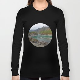 Katun river, Altai mountains, Siberia, Russia Long Sleeve T-shirt