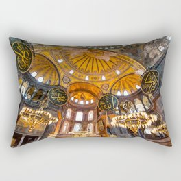 Beautiful Hagia Sophia Rectangular Pillow