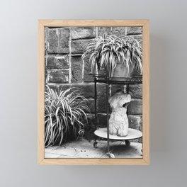 Broken Sculpture Framed Mini Art Print