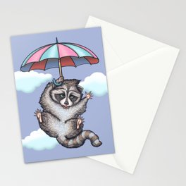 Hurray.....i can fly... Stationery Cards