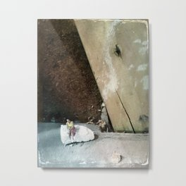 House Disaster Art -  Taking a Moment Metal Print
