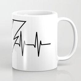 Bowie Heartbeat Coffee Mug
