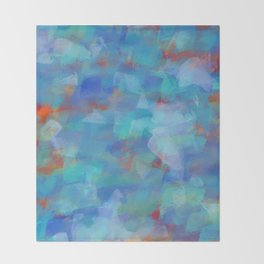 Paint Strokes Two Throw Blanket