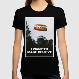 I WANT TO MAKE BELIEVE Fox Mulder x Mister Rogers Creativity Poster T-shirt