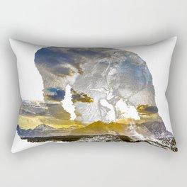 Catching a Teton Sunset Rectangular Pillow