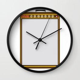 Tail Amplifier Wall Clock