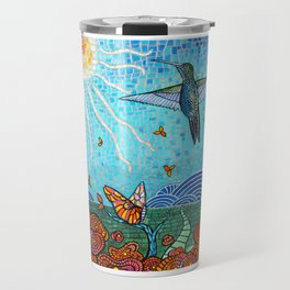Garden in the Sun Travel Mug