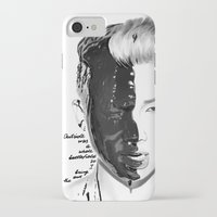 rap iPhone & iPod Cases featuring Rap Monster by Young Volcano