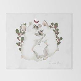 Piggy & Polly Throw Blanket