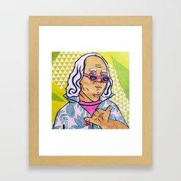 West Coast Ben Framed Art Print