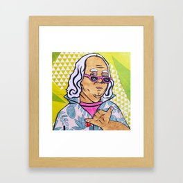West Coast Ben Framed Art Print