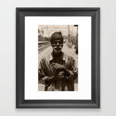 Face I (India) Framed Art Print