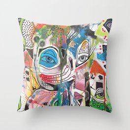 The Point Being Throw Pillow